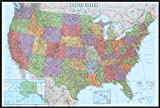 30x42 United States Decorator Wall Map - Laminated