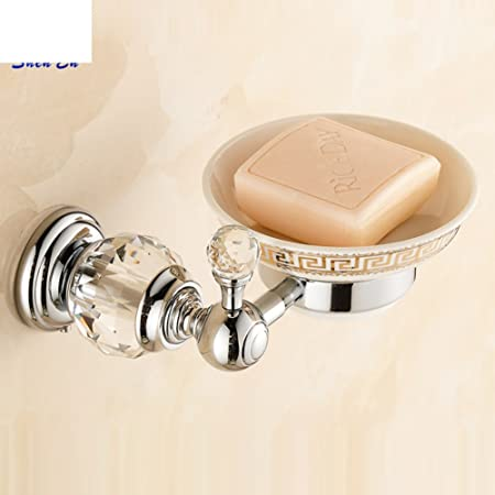 Full Copper Crystal Bathroom With Soapy Dish Bathroom Accessories