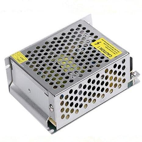 PHEVOS - Transformador universal de 12 V 30 A CC con núcleo de ...