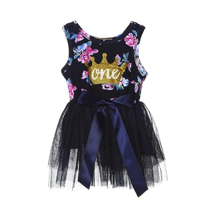 Vestidos Niña Bebe, K-youth® Ropa Bebe Recien Nacido Tutú Princesa Vestido Corona Ropa Bebe Niña Vestidos para 0-24 meses: Amazon.es: Ropa y accesorios
