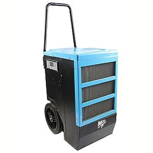 Maxxair UPS 140-Pint Bucketless Portable Dehumidifier, Blue