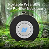 NULIPAM Personal Air Purifier Necklace, Wearable