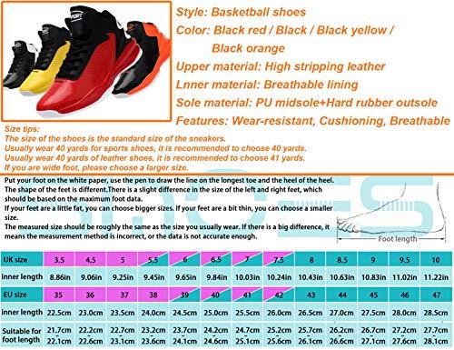 Negro Para Zapatillas Deportivo Mujer Calzado Baloncesto Hombre Deporte Sinoes Moda Transpirable Sneaker Antideslizante High Libre F7 Ligeros Al Correr Up top De Zapatos Blanco Aire Lace wYqSxU