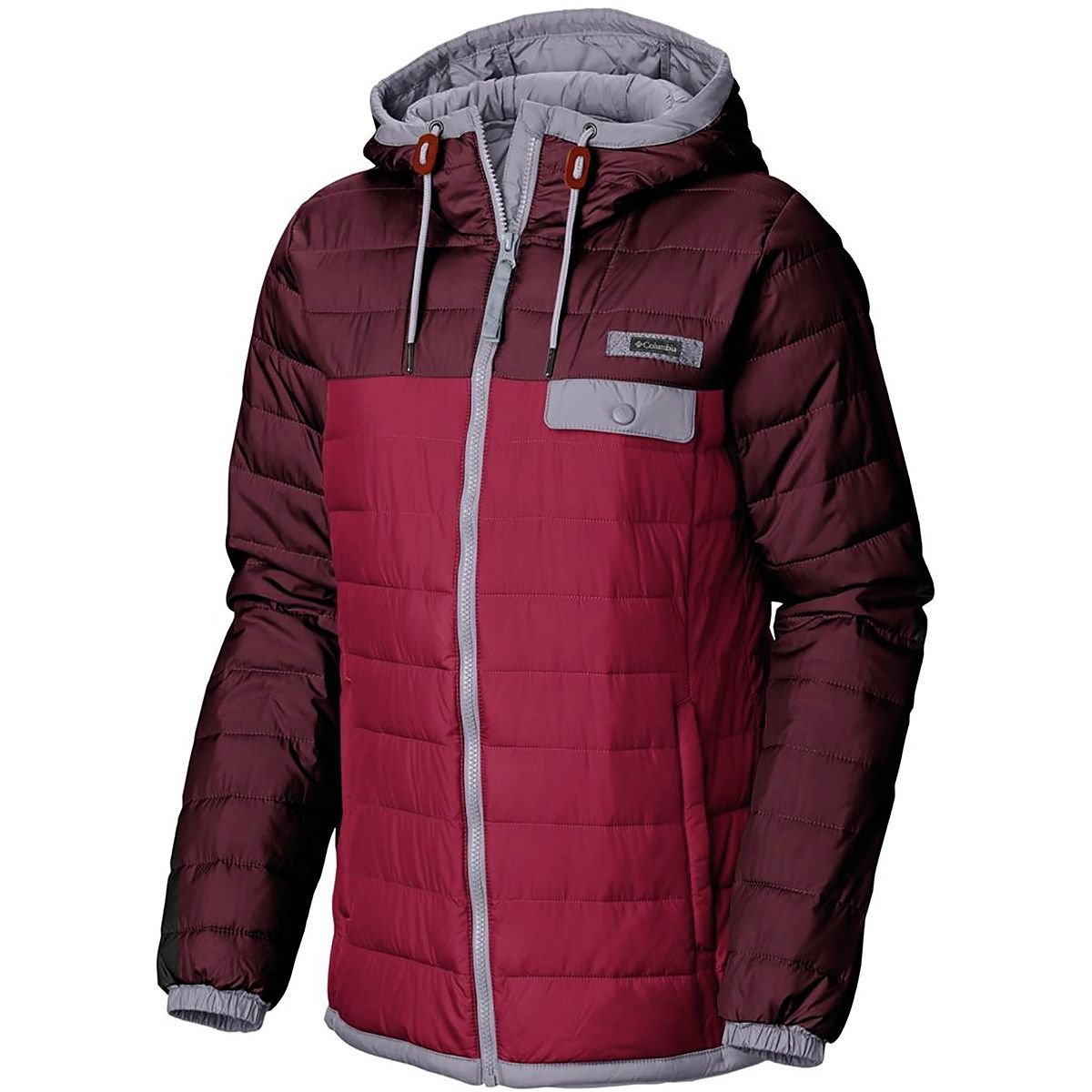 Columbia Mountainside Full-Zip Jacket - Women's Pomegranate/Rich Wine, M