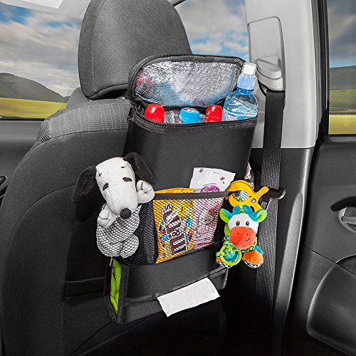 Waybread Car Backseat Organizer/Cozy Insulated Auto Bag/Make Travel Comfortable by Waybread