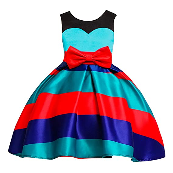 Hibote Vestiti da Partito di Compleanno di Nozze della Principessa di  Natale Ragazze per Bambini  Amazon.it  Abbigliamento 66484ba5cb2