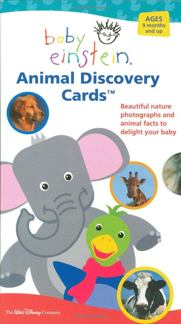 Baby Einstein: Animal Discovery Cards : Beautiful Nature Photographs and Animal Facts to Delight Your Baby pdf