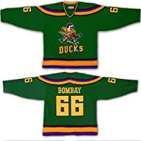 Yajun Gordon Bombay #66 Mighty Ducks Película Camisetas
