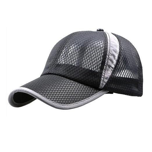 Bestpriceam Men Women Sun Hat Quick-dry Ventilation Baseball Cap (Black) 3630b903aee5