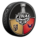 #4: 2018 NHL Stanley Cup Playoff Final (Las Vegas Golden Knights vs. Washington Capitals Dueling Souvenir Puck