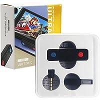 heyaa Adaptador Bluetooth compatível com Switch/Lite/PS4/PS5, Transmissor de áudio sem fio BT 5.0 com baixa latência USB…