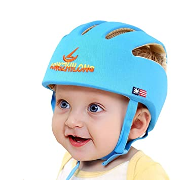 Baby Toddler Safety Adjustable Helmet Headguard Cap Protective Harnesses Hat Kid