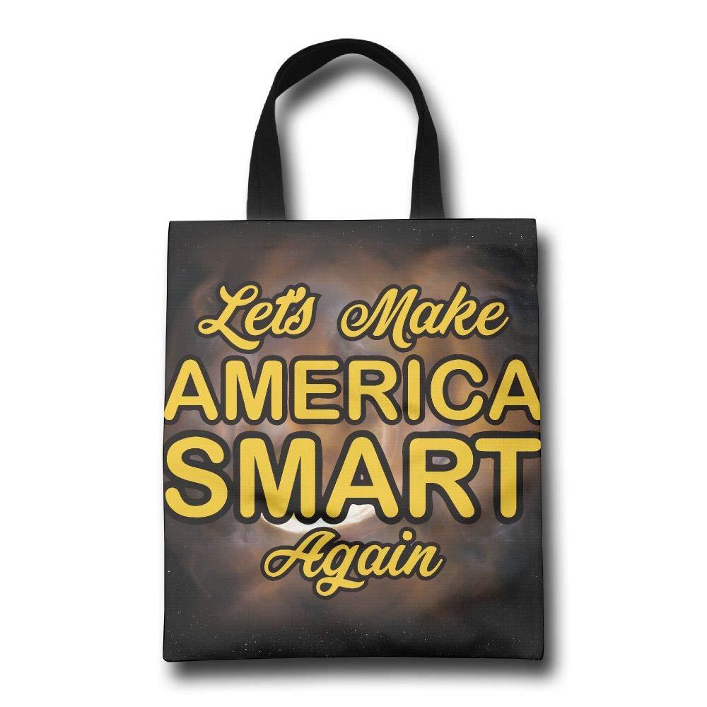 見事な創造力 Lqzdqa Let's Make Make America Smart Smart Again Fashion B07GSMFFQV 再利用可能なショッピングバッグ エコフレンドリー 耐久性 B07GSMFFQV, datta.やちむんとシーサーの工房:63f14f39 --- by.specpricep.ru