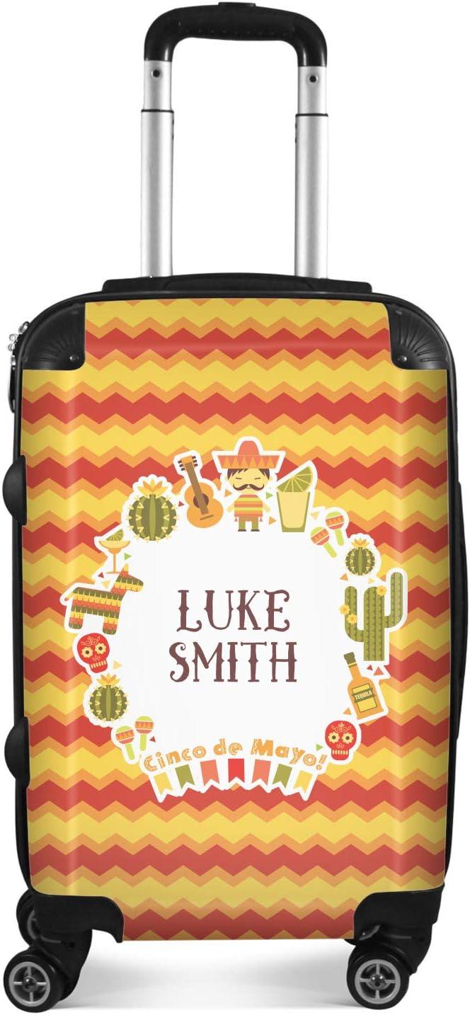 Checked Fiesta Personalized 24Medium Cinco de Mayo Suitcase