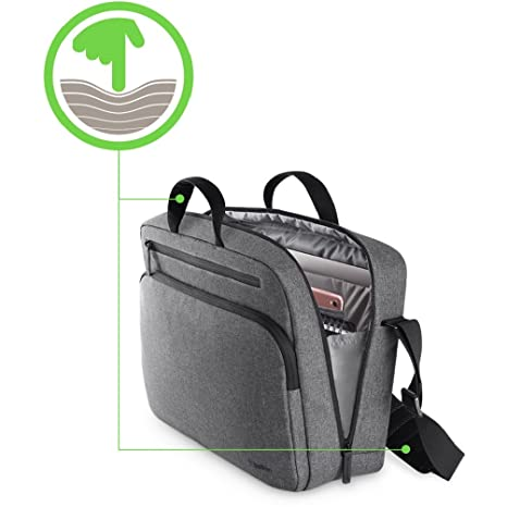 """2c3e22b61 Amazon.com: Belkin Classic Pro Messenger Bag for Laptops up to 15.6"""":  Computers & Accessories"""