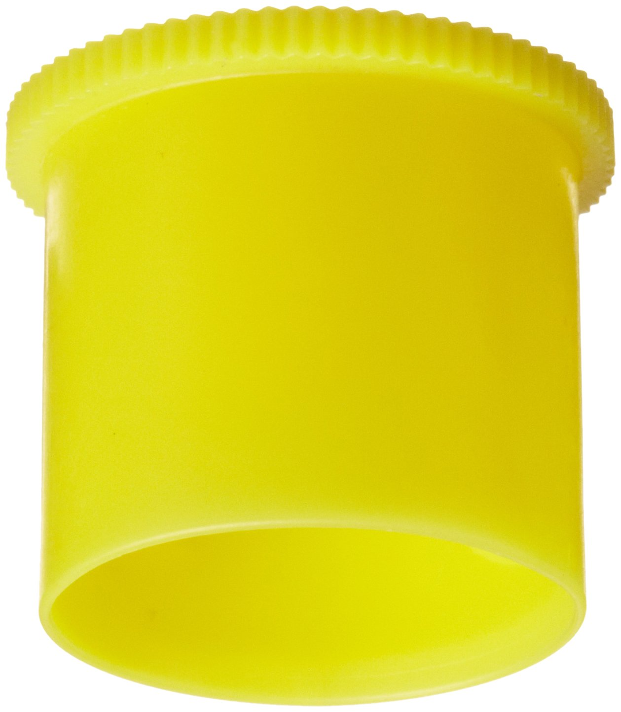 Kapsto 205 K 14 x 14 Ethylene Vinyl Acetate Protective Cap Pack of 100 14 mm Tube OD Poppelman Plastics 20514140000 Yellow