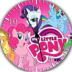 My Little Pony Borderless Frameless Wall Clock E379 Nice For Decor Or Gifts