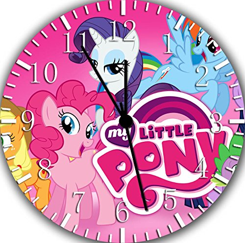 Borderless My Little Pony Frameless Wall Clock E379 Nice for Decor Or Gifts