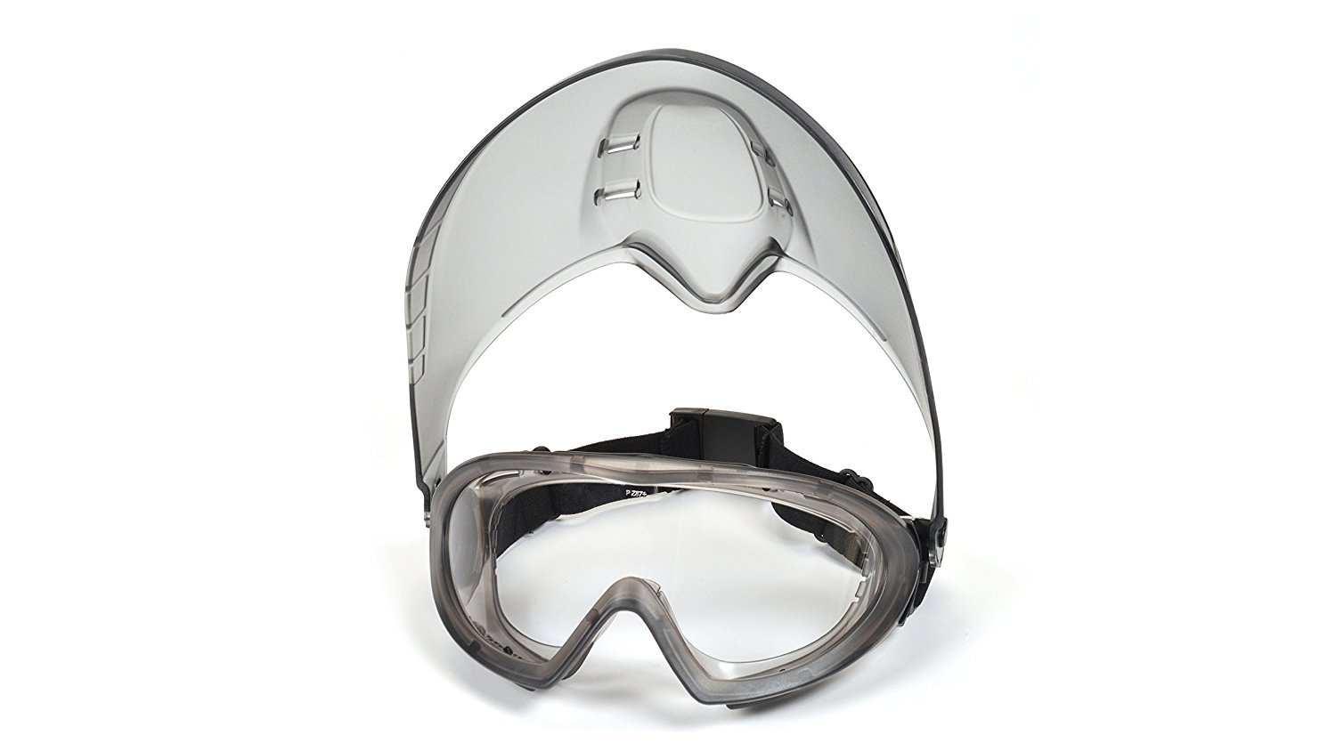 Pyramex Capstone Direct/Indirect Goggle with Faceshield Attachment GG504TShield (6 Pack) by Pyramex (Image #3)
