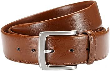 Eg-Fashion Herren Anzug Gürtel hochwertiger Business-Gürtel 3,8 cm Breite - Individuell kürzbar