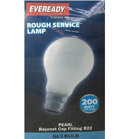 Home, Furniture & DIY Lighting GLS Pearl 200w BC/B22 Bayonet Cap Light Bulbs x 10