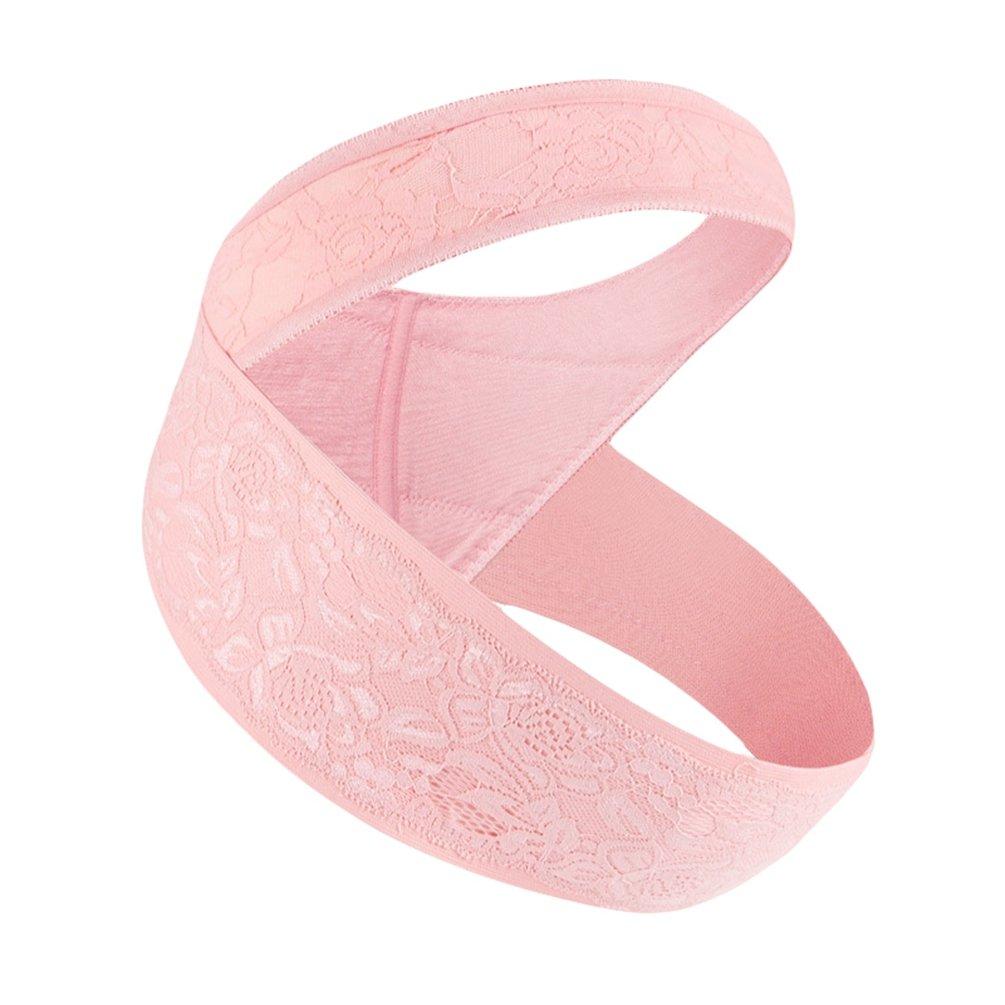 Dexinx Cintura di Maternità Cintura di Supporto per Gravidanza Fascia per la Pancia Traspirante Cura Regolabile Supporto Addominale Traspirante Culla Prenatale per Bebè