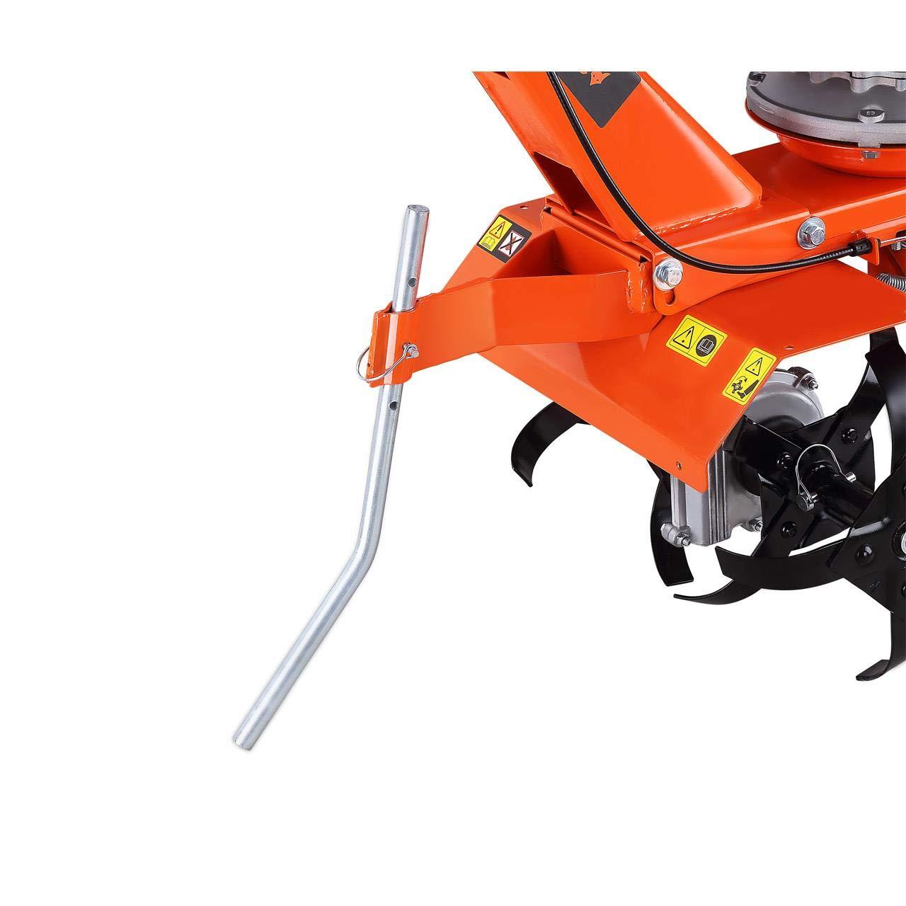 Fuxtec FX-AF1139 - Motoazada de gasolina para jardín (con ruedas ...