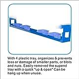 SOLARY PS302 Parts Cart Mobile Storage Rack Shelf