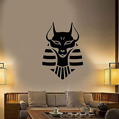 Anubis dios egipcio antiguo vinilo tatuajes de pared decoración ...