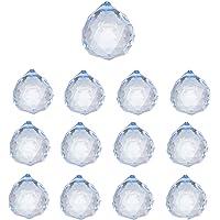 Simuer Bola de Cristal Transparente, Esfera de Cristal, Bola Decorativa de curación, decoración K9, Accesorio de Cristal para fotografía, decoración de enseñanza, Regalo de cumpleaños