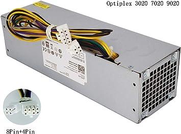 Renewed Dell R7PPW OptiPlex 3020 T1700 SFF AC255AS-00 255w Power Supply