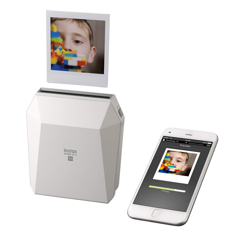 Fujifilm Instax Share SP-3 - Impresora smartphone, color blanco + ...