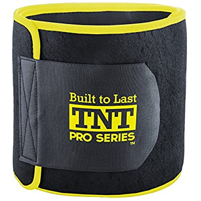 TNT Pro Series Waist Trimmer Weight Loss Ab Belt - Premium Stomach Wrap and Waist Trainer from TNT Pro Series