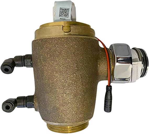 American Standard 6063.305.007 Concealed Flowise Selectronic 3//4-Inch Back Spud Urinal Flush Valve 0.5 Gpf Rough Brass DC Powered