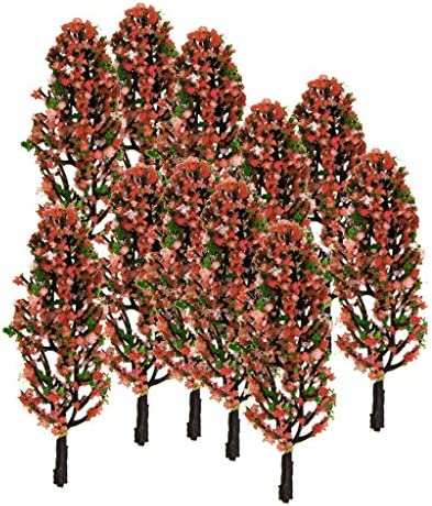 T TOOYFUL 1/200 モデルツリー 樹木模型 木 鉢植え用 鉄道模型 風景 モデル トレス ジオラマ 建築模型 電車模型 装飾 20本