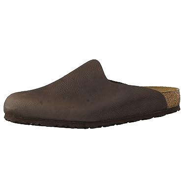 9032efc1c5d Birkenstock Amsterdam NU Steer Chocolate  Amazon.co.uk  Shoes   Bags