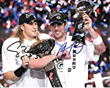 Aaron Rodgers & Clay Matthews Autographed Signed Green Bay Packers 8 x 10 Photo - Mint Condition - COA From Nostalgic Cards & Autographs