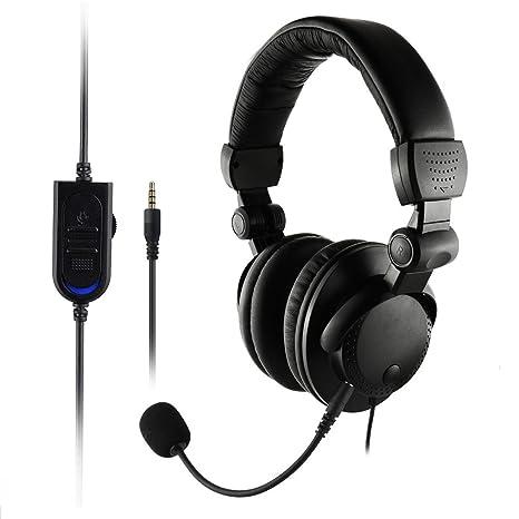Naili Retráctil Virtual Aislamiento Control De Volumen Tabletas Ordenador Portátil Gaming Headset,A