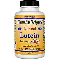 Healthy Origins Lutein Lutemax 2020 Supplement, 20 mg, 180 Count