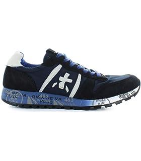 PREMIATA uomo sneakers bassa LUCY 1298E taglia 41 Blu