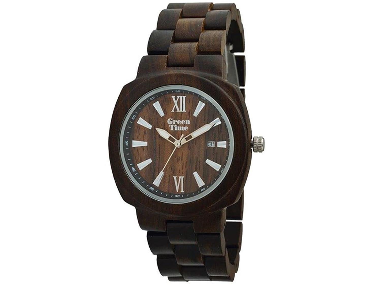 Greentime Uhr aus Holz von Wenge zw048 C