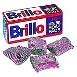 Brillo W240000CT Hotel Size Steel Wool Soap Pad, 10 per Box (Case of 12 Boxes)