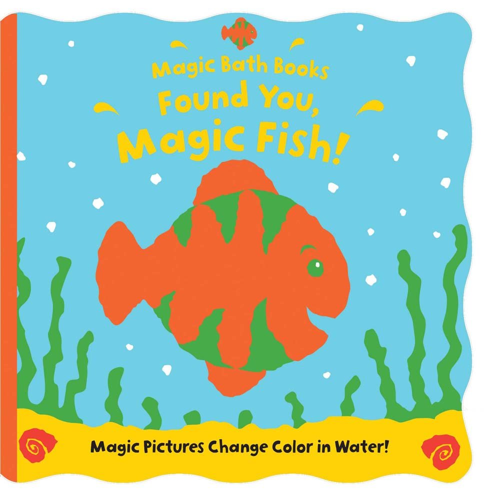 found you magic fish magic bath books moira butterfield