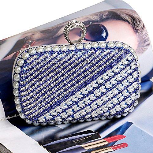 de TuTu haut Pochette boucle blue à diamant gamme banquet classique qSXxSgwR