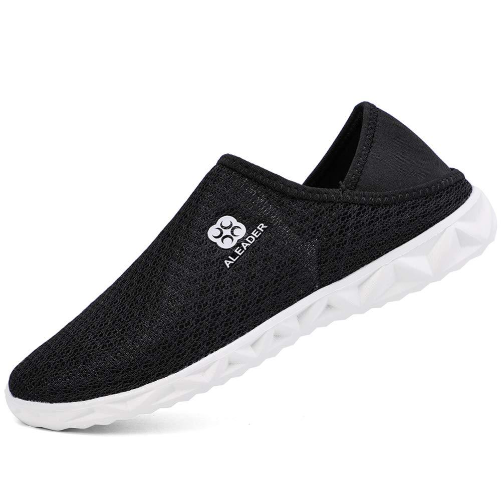 Zefani Mens Slip On Water Shoes Lightweight Aqua Slippers