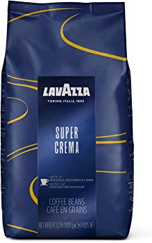 Lavazza Super Crema Whole Bean Coffee Blend 2.2-lb. Bag