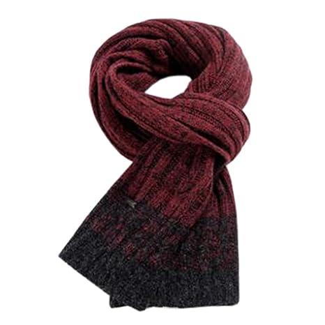 Stile coreano scaldacollo sciarpa lunga sciarpe a maglia casual scialle  scialle rosso d898b8e0758b