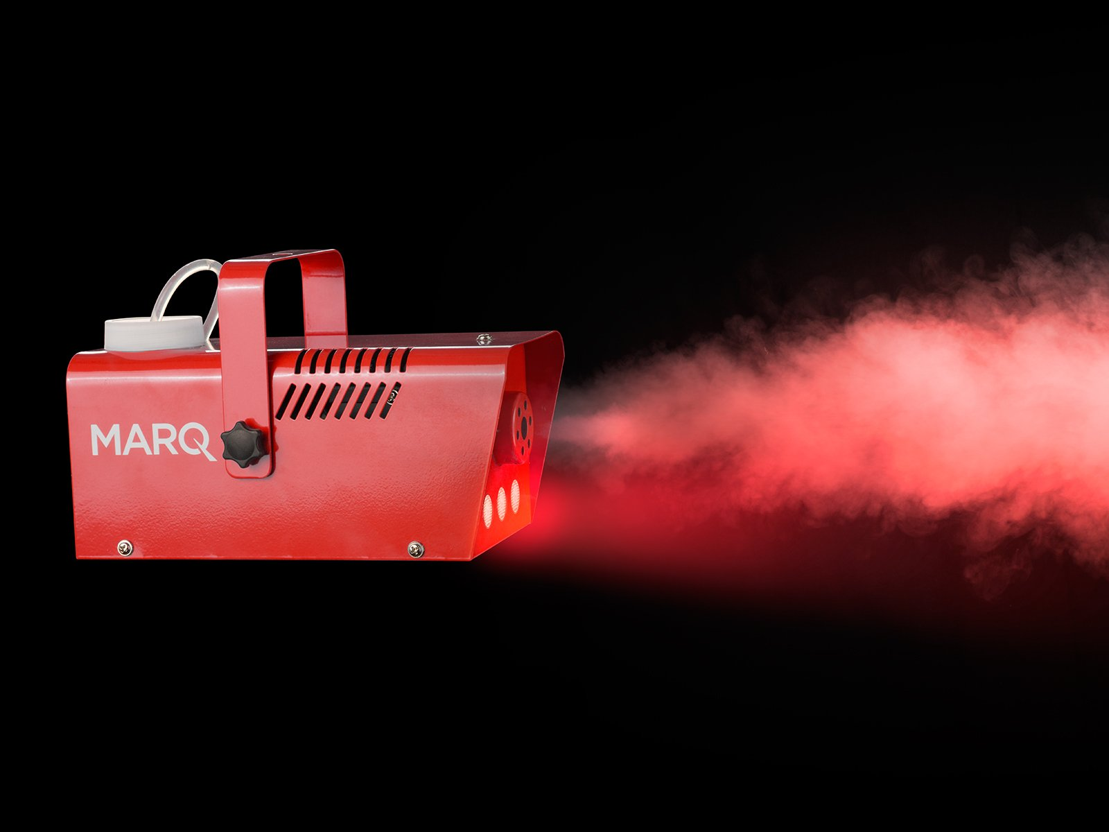 MARQ Fog 400 LED | 400W Water-Based Special Effects Fog Machine with Red-Color LED Lights (Red) by MARQ (Image #4)