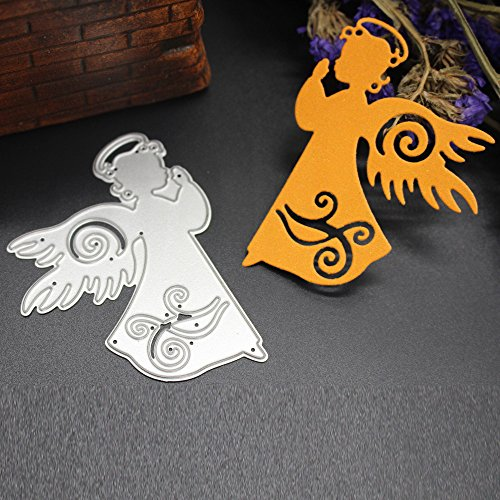 (POQOQ Cutting Dies Scrapbooking Paper Card Metal Die Cut Stencils #0311C, Accessories for Big Shot and Other Cutter Machine(B))