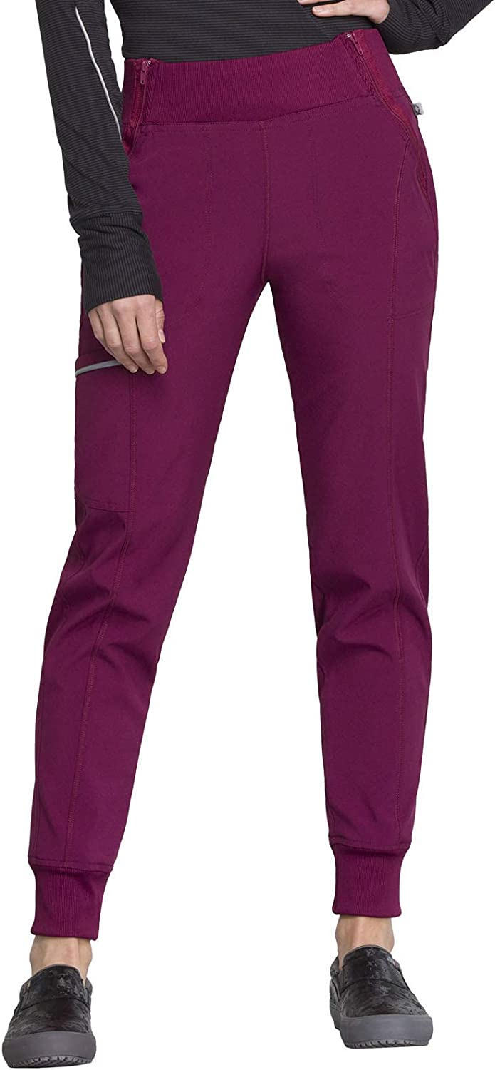 CHEROKEE Infinity Mid Rise Tapered Leg Jogger Scrub Pant Scrub Pant: Clothing